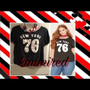 Forever 21 'New York 76' Shirt/Top ~ 2X